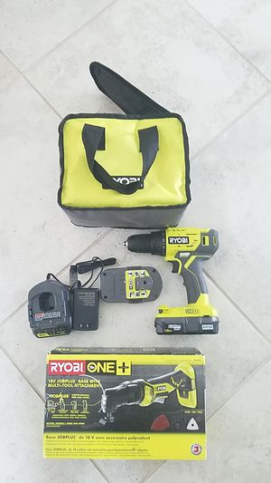 Ryobi drill set for Sale in Ruskin, FL
