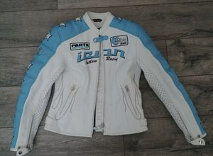 Icon Kitty Ladies Riding Jacket Size XL (8-10) Armored Racing Gear Motorcycl for Sale in Friendswood, TX