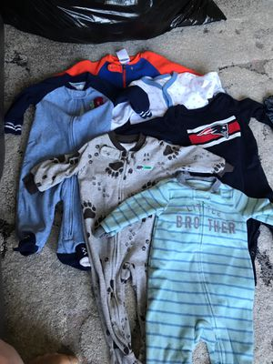 Winter baby clothes mainly 6 to 9 months boys for Sale in Leominster, MA