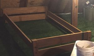 Wooden Twin size loft bed frame for Sale in Durham, NC