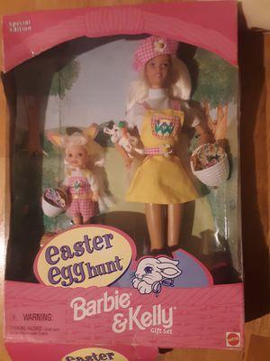 Easter Egg Hunt Barbie & Kelly Gift Set Special Edition 1997 Mattel for Sale in Saint Paul, MN
