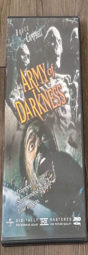 Army of Darkness (DVD, Special Edition, Widescreen/Fullscreen, 1999) for Sale in Denver, CO