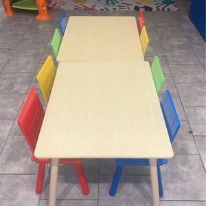 CHILDREN TABLE AND CHAIRS for Sale in Seaford, NY