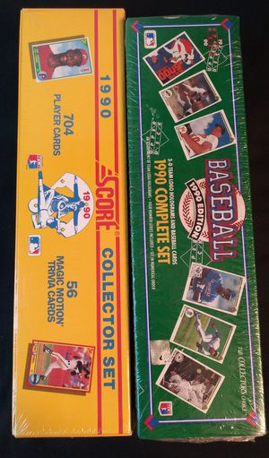 Complete Factory sealed set of baseball 1990 Upper Deck 1990 score for Sale in Moreno Valley, CA