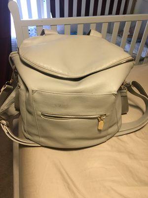 Leather diaper bag backpack for Sale in Nashville, TN