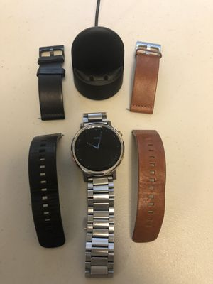 Moto 360 Gen 2 w/ charger $175 obo for Sale in Raleigh, NC