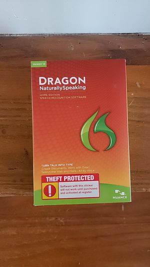 Dragon naturally speaking for Sale in Cleveland, OH