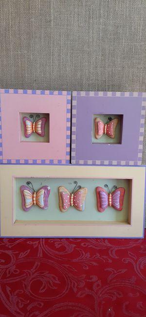 $8 Butterfly Room Decor Wall Art for Sale in Hemet, CA