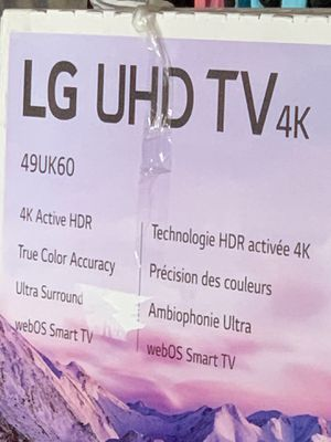 LG TV Brand New!! Never opened for Sale in Upland, CA