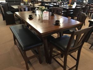 Sale!! 6 Pc Counter Height Dining Set for Sale in Cerritos, CA