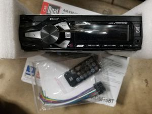 D Dual AM/FM Digital Media Receiver Car Stereo with Bluetooth and USB for Sale in Garden Grove, CA