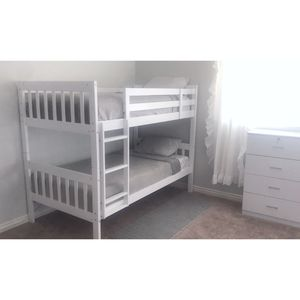 New!! Twin Bedroom Set, Twin Set, 2 Piece Set, Bunk bed And Chest for Sale in Phoenix, AZ