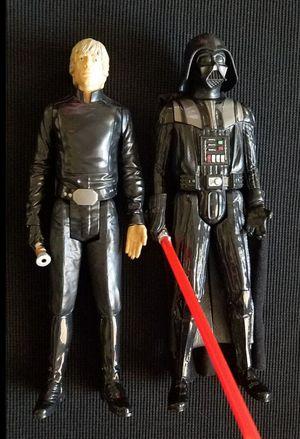 StarWars Darth Vader & Luke Skywalker figure LFL Hasbro SA for Sale in Las Vegas, NV