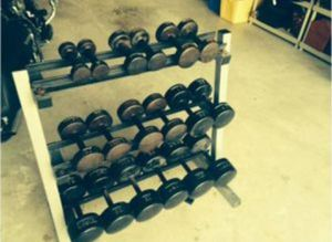 York Roundhead Dumbbells for Sale in Miami, FL