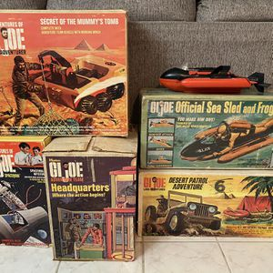 GI Joe Adventures Sets 1966-70s - MESSAGE ME for Sale in Tampa, FL