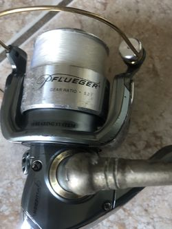 """Flueger reel with 7"""" Rod for Sale in Hollywood,  FL"""