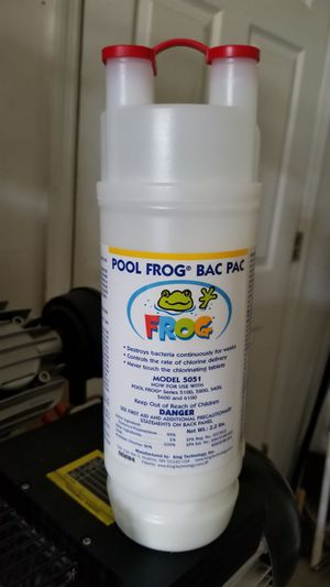 Pool frog bac pac chlorine. for Sale in Valrico, FL