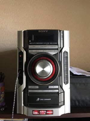 Sony Home Stereo with Speakers & sub for Sale in Sacramento, CA