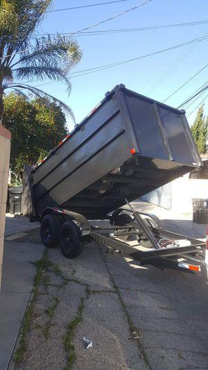 2020 BRAND NEW DUMP TRAILER LIFT BOX 8X12X4 HEAVY DUTY. for Sale in Los Angeles, CA