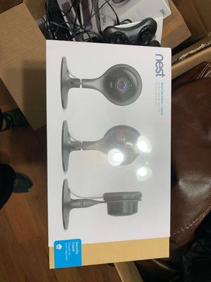 Google nest camera 3 pack brand new sealed for Sale in Franklin, TX