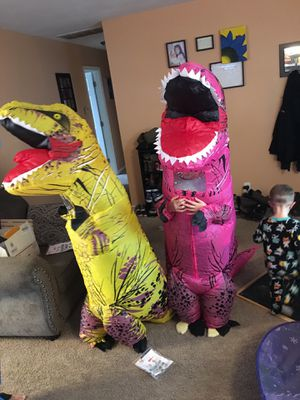 New inflatable dinosaur costume for Sale in Indianapolis, IN