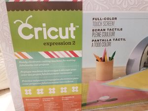 Cricut Expression 2 with 7 cartridges NEW for Sale in Santa Maria, CA