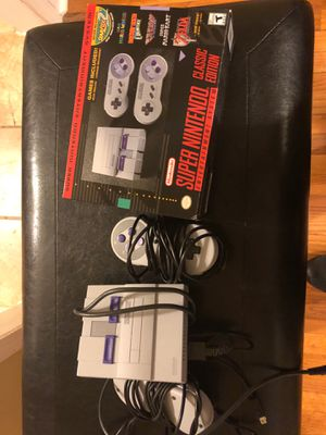 Super Nintendo Classic Edition With Additional Games for Sale in Atlanta, GA
