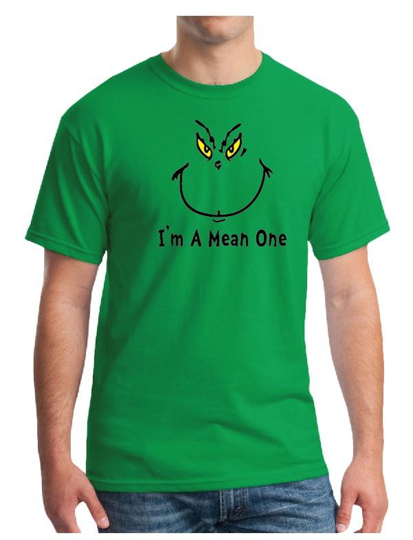 The Grinch Face Shirt - I'm A Mean One