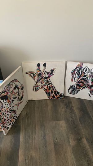 Three animal pictures for Sale in Soddy-Daisy, TN