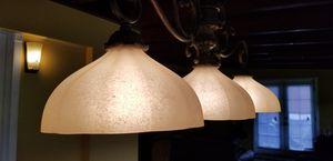 Tuscun style 3 light linear chandelier for Sale in La Mesa, CA