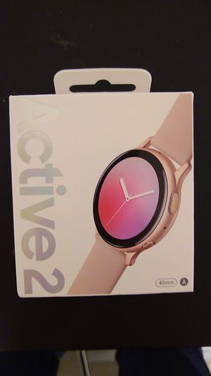 Samsung Galaxy Watch Active 2 (40mm) for Sale in Baltimore, MD