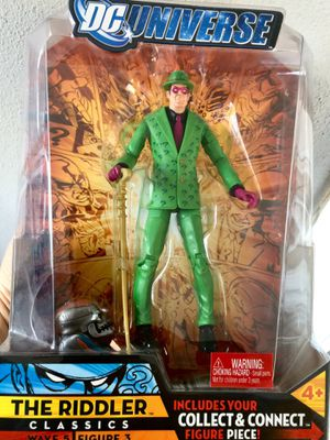 The Riddled DC Universe wave 5 ACTION FIGURE for Sale in Encinal, TX