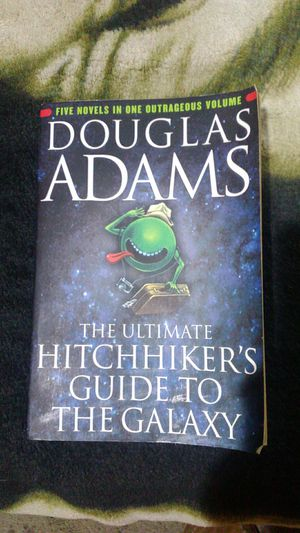 Hitchhiker's Guide To The Galaxy full anthology for Sale in Vancouver, WA