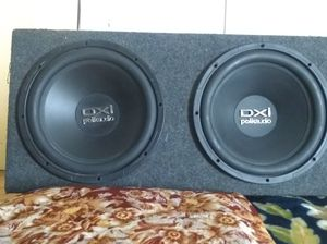 Dual 12-inch subwoofer DXI POLK AUDIO for Sale in Concord, CA