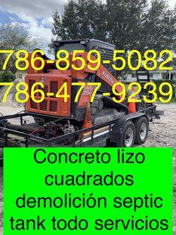 Bobcat Excavadora Mini Excavator And Volteo.)✅(((.demolición Servi,cios.)))✅✅✅.!!!. for Sale in Miami,  FL