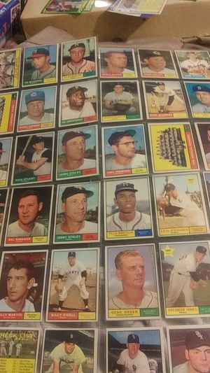 1961 Topps Baseball Cards(over 200 cards) for Sale in Phoenix, AZ