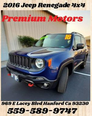 2016 Jeep Renegade for Sale in Hanford, CA