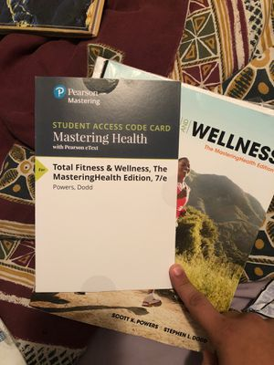 Will make combo offer! Student access code for mastering health for Sale in Ocala, FL