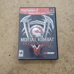 Sony Ps2 Mortal Kombat Deadly Alliance for Sale in Hollywood, FL
