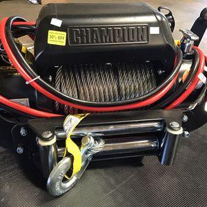 Champion 10,000pd. Winch for Sale in Chula Vista, CA