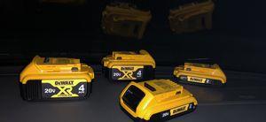 Dewalt batteries all brand new for Sale in Greer, SC