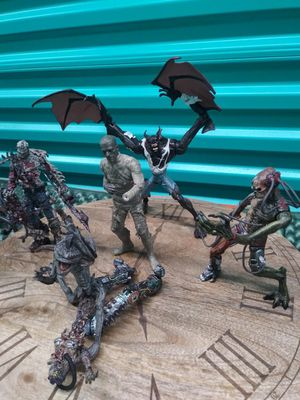 Horror Figurines Lot *Perfect for Halloween Decoration* for Sale in Centreville, VA