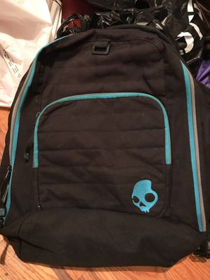 Skullcandy skull candy book bag backpack school gym carry on laptop for Sale in Bronx, NY