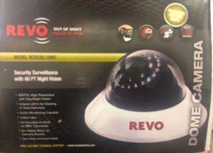 Revo RCDS30-2BNC 600 TVL day/night Dome camera for Sale in Miami, FL