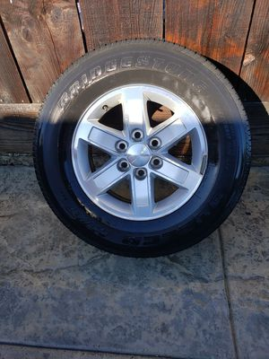 Gmc rims and used tires for Sale in Salinas, CA
