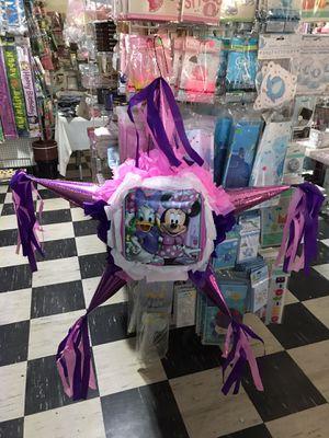 """Minnie piñata """"4 pieces"""" package. Paquete de 4 piezas pinata for Sale in Stockton, CA"""