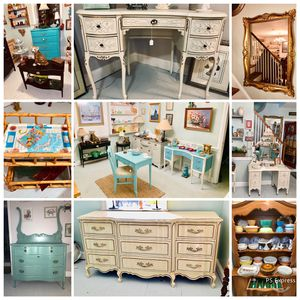 Upcycled and refinished home decor and furniture sale for Sale in Kensington, MD