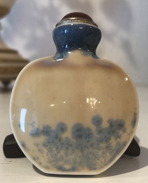 Antique Chinese Qing Dynasty Porcelain Snuff Bottle Rare for Sale in Miami, FL