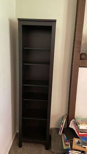 2 IKEA bookshelves dark brown almost black for Sale in Arvada, CO