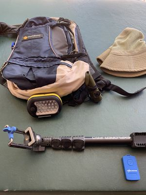 I have 3 Water bag/backpacks for sale 1st offer gets all of what you see for Sale in Modesto, CA